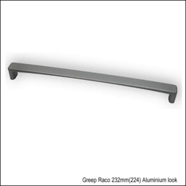 Greep Raco 232mm (224) aluminium  look