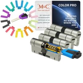 Color cilinder  PRO set 4 stuks