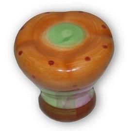 Knop Yaro: 35 mm gekleurd porselein (per 5 stuks)