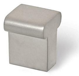 Knop Leco: 16 mm mat nikkel