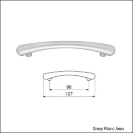 Greep Rilano Anox 127mm (96mm)