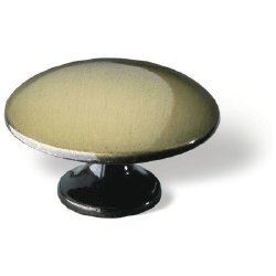 Knop Cilla: 35 mm brons