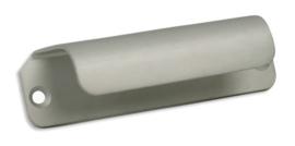 Komgreep Renzo 80 mm aluminium
