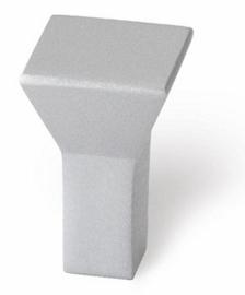 Knop Boris 16 mm  aluminium