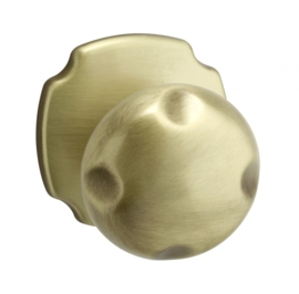 Voordeurknop brons 57 mm