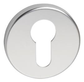 Cilinderplaatje  aluminium luxe
