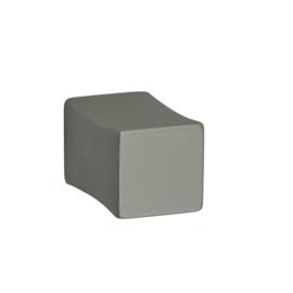 Knop vierkant aluminium 15mm*15mm*23mm