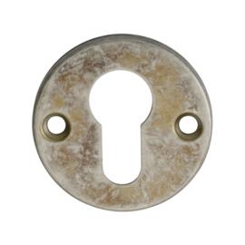 Cilinderplaatje  oud  tin