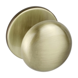 Voordeurknop brons 69 mm