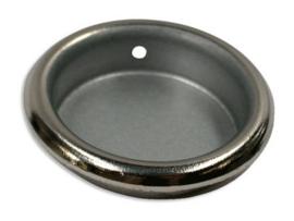 Schuifdeurkom Lieke: 26 mm nikkel