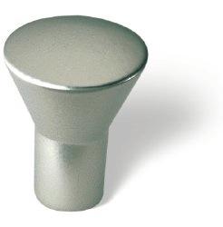 Knop Wesley: 16 mm mat nikkel