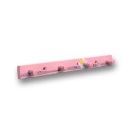 Kapstok fee roze 4 haaks