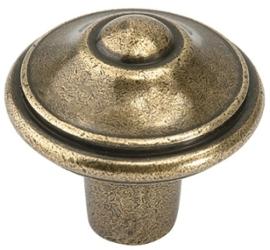 Knop Viola: 31 mm brons