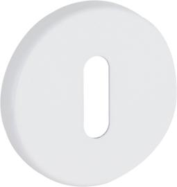 Sleutelplaatjes Aluminium Wit