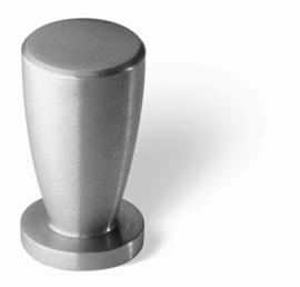 Knop Raki: 12 mm rvs