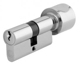 Chavo zelf samenstellen nieuwe knopcilinder nikkel