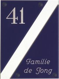 Gravoglas naambord 15x20 cm 4011
