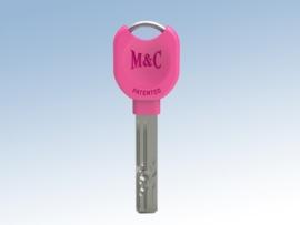 Extra sleutel nabestelling voor veiligheidscilinder, Rose