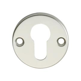 Cilinderplaatje Aluminium / Brons