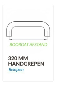 Handrepen 320mm boorgat