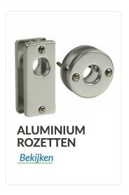 Aluminium rozetten