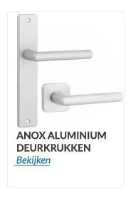 Deurkrukken en deurklinken Aluminium anox