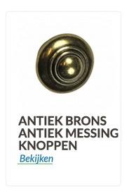 bronzen ,Antiek messing  knoppen