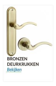 Deurkrukken en Deurklinken brons kleurige
