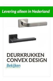 Deurkrukken Convex® design Top kwaliteit