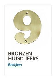 bronzen huiscijfers