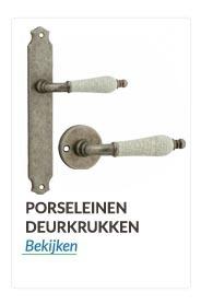 Deurkrukken en deurklinken Porseleinen