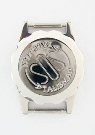 S.O.S. talisman horlogeband-talisman staal 12mm