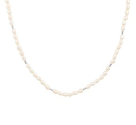 Collier parel 2,5 mm 41 + 4 cm
