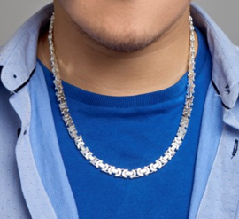 Collier konings plat 8,5 mm