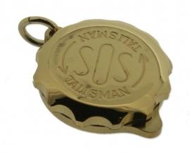 S.O.S. talisman hanger double