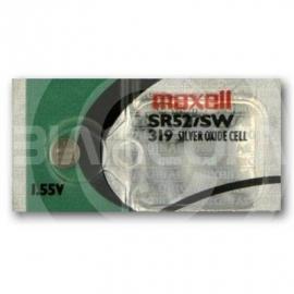 Maxell 319 SR527SW SR64 319 D319 SR527 Silver Oxide Watch Battery