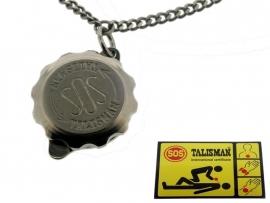 S.O.S. talisman hanger Titanium