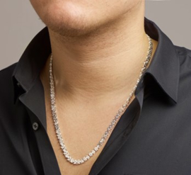 Collier konings plat 6,5 mm