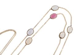 Long Necklace Floral