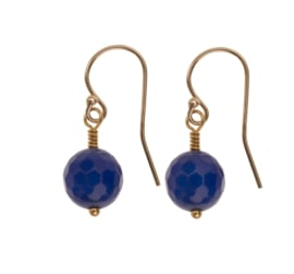 Blue Agate Goldplated