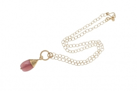 Necklace Luna Pink