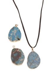 Sea Jasper Stone BLUE