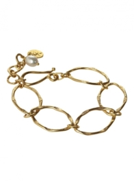 Armband Nema  met Earring Classy pearl