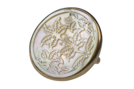 Carved mother of pearl