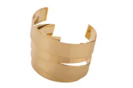 Double folded Cuff Bracelet