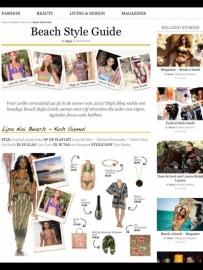 Bijenkorf Beach Style guide - juni 2013