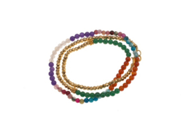 BOHO BRACELET / NECKLACE PRECIOUS STONES SOLD OUT