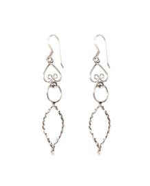 Earring Taj Silver
