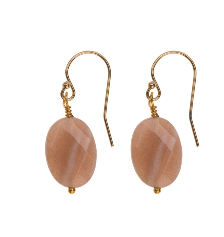 Moonstone  Goldplated