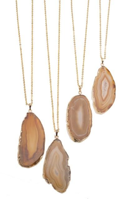Agate  Pendant &  Necklace